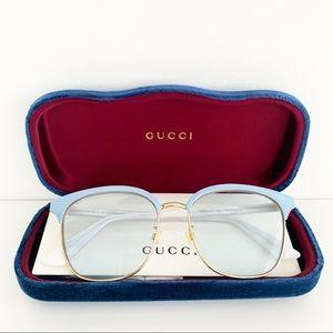🌸 GUCCI Sunglasses Square Vintage Glasses NWT